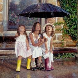 Пазл онлайн: Летний дождь