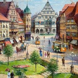 Пазл онлайн: Городской пейзаж
