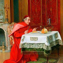 Пазл онлайн: The Cardinal