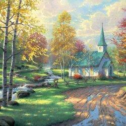 Пазл онлайн: Осенний перезвон