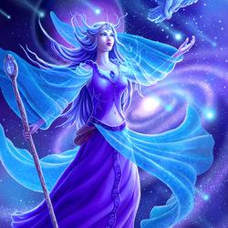 Пазл онлайн: Космическая колдунья/Cosmic Sorceress