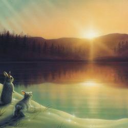 Пазл онлайн: Здравствуй, солнце