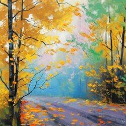 Пазл онлайн: Осенний восторг