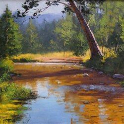 Пазл онлайн: Река Кокс