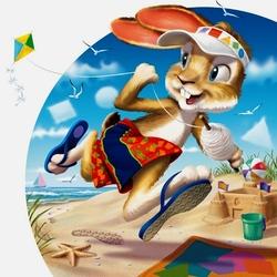 Пазл онлайн: Пляжные игры