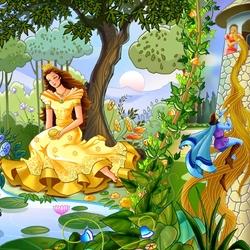 Пазл онлайн: Любимые сказки