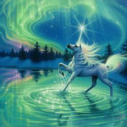 Пазл онлайн: Волшебный танец