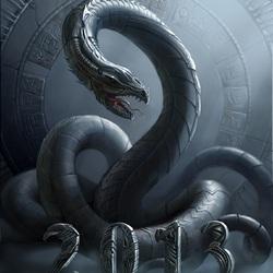 Пазл онлайн: Год змеи