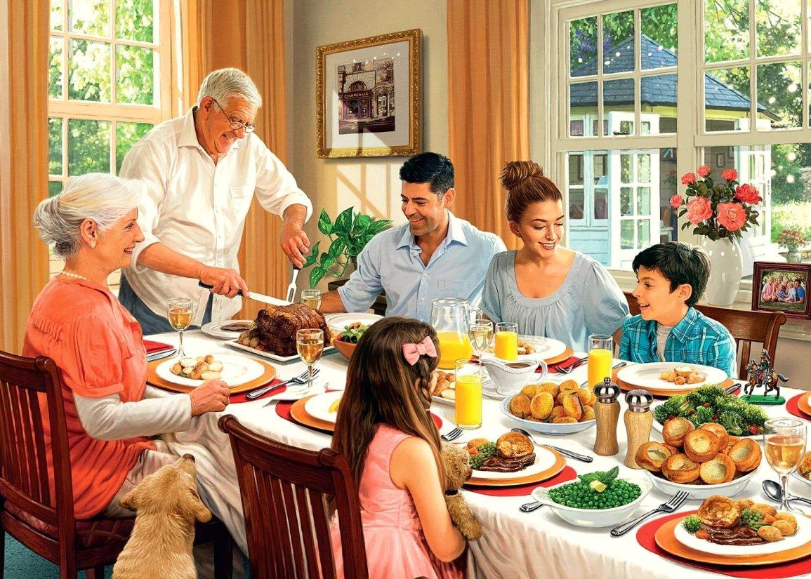 семейный праздник картинки большой семьи шапки являются просто