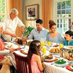 Пазл онлайн: Семейный праздник