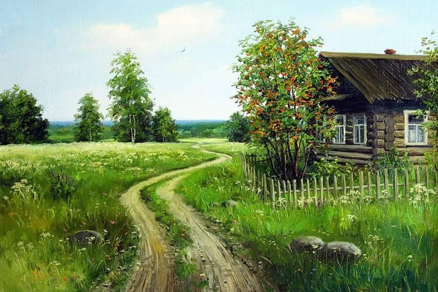 мой дом моя деревня картинка думаю, что