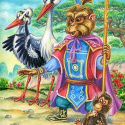 Пазл онлайн: Китайские сказки