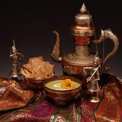 Пазл онлайн: Персидский завтрак