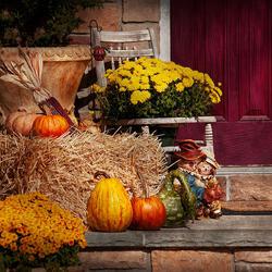 Пазл онлайн: Осенние приготовления