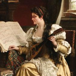 Пазл онлайн: Уроки музыки