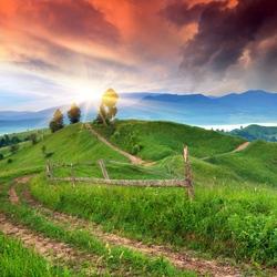 Пазл онлайн: Летний рассвет
