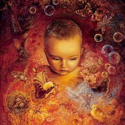 Пазл онлайн: Глазами ребенка