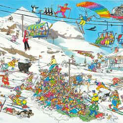Пазл онлайн: Зимний спорт