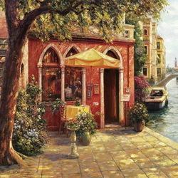 Пазл онлайн: Венецианская терраса