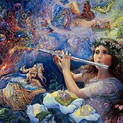 Пазл онлайн: Зачарованная флейта