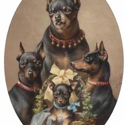 Пазл онлайн: Семейный портрет