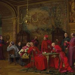 Пазл онлайн: Вечеринка кардиналов