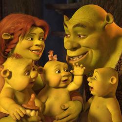 Пазл онлайн: Шрэк и его семья