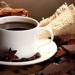 Пазл онлайн: Ароматный кофе