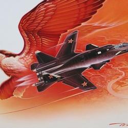Пазл онлайн: Су-47 Беркут