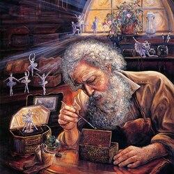 Пазл онлайн: Волшебная шкатулка