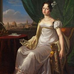 Пазл онлайн: Герцогиня Мария Терезия Австрийская