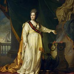 Пазл онлайн: Портрет Екатерины II