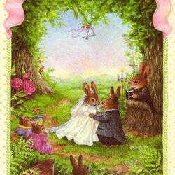 Пазл онлайн: С Днем бракосочетания!