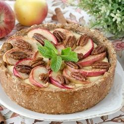 Пазл онлайн: Торт-шарлотка