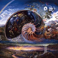 Пазл онлайн: Спираль жизни