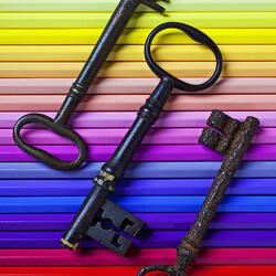 Пазл онлайн: Старые ключи