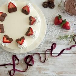 Пазл онлайн: Десерт с любовью