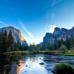 Пазл онлайн: Национальный парк Йосемите