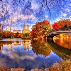 Пазл онлайн: Нью Йорк. Центральный парк