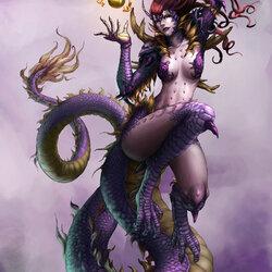 Пазл онлайн: Леди Дракон