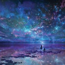 Пазл онлайн: Звездное небо
