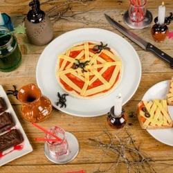 Пазл онлайн: Завтрак в Хэллоуин