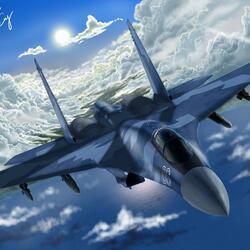 Пазл онлайн: Су-35