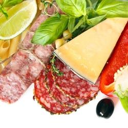 Пазл онлайн: Итальянская еда