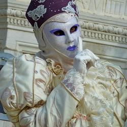Пазл онлайн: Венецианская маска
