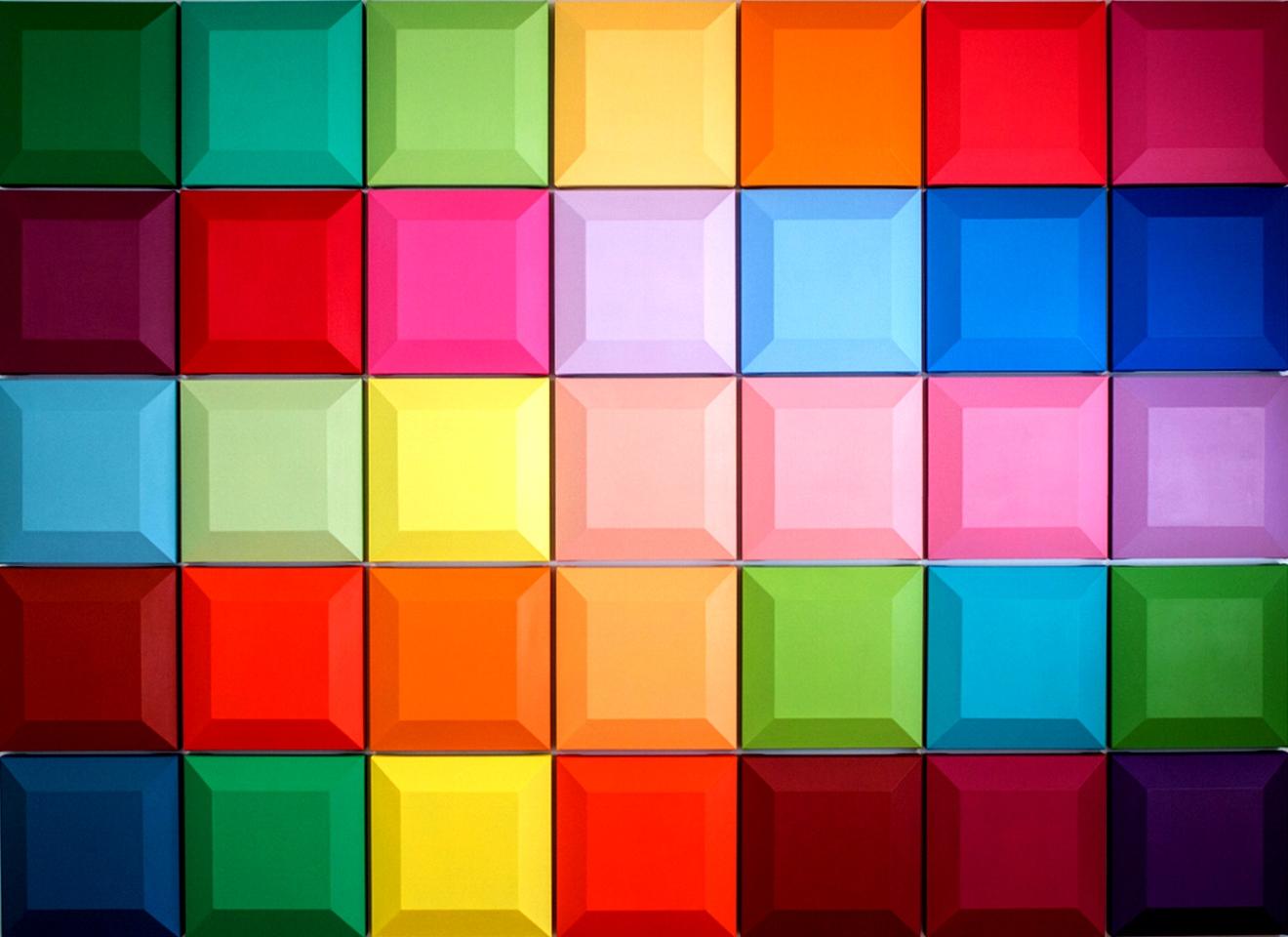 вместо фото цветные квадраты нем больше