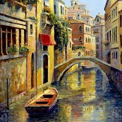 Пазл онлайн: Венецианский этюд