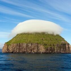 Пазл онлайн: Остров в шапке