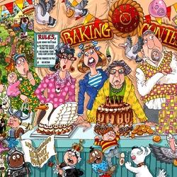 Пазл онлайн: Конкурс деревенской выпечки