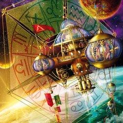Пазл онлайн: Космическая станция